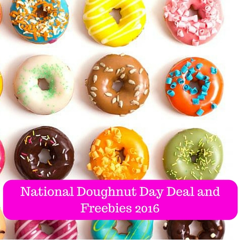 National Doughnut Day Deal and Freebies 2016 (1)