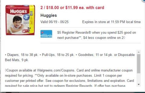 huggies rr deal