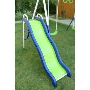 Sportspower Mountain View Metal Swing Slide Trampoline Set Only