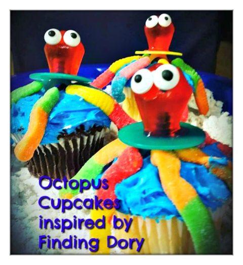 octopus cupcakes ml