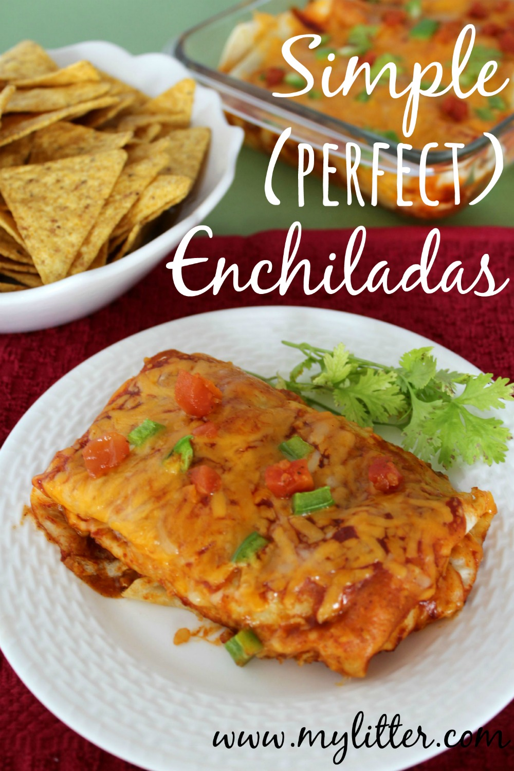 Simple Perfect Enchiladas Recipe - MyLitter - One Deal At A Time
