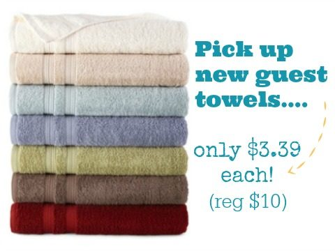 JCPenney: Home Expressions 27″ x 52″ Bath Towels only $3.39 Each ...