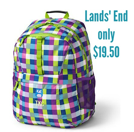 lands end classmate medium backpack only. Black Bedroom Furniture Sets. Home Design Ideas
