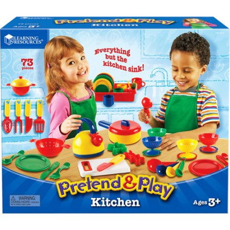 Walmart: Learning Resources Pretend & Play Kitchen Set 50% OFF ... on puzzles at walmart, stacking chairs at walmart, games at walmart, dora kitchen set walmart, wall lighting at walmart, toy kitchen sets walmart, kidkraft kitchen set walmart, minnie mouse toddler bed set walmart, outdoor rocking chairs at walmart, play doh sets at walmart, dress up sets at walmart, barbie sets at walmart, toy kitchens at walmart, american girl doll kitchen set at walmart, toddler sets at walmart, foam furniture at walmart, table sets at walmart, play food at walmart, barbie kitchen set walmart, art sets at walmart,