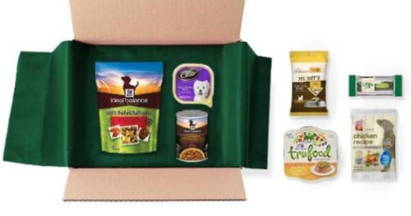 Image result for dog food sample box