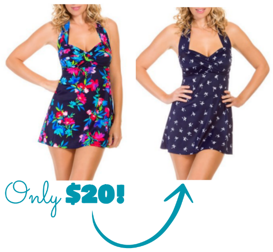 4ec5833771fb4 About this point in the summer you might be wishing you had a new swimsuit  – and these Catalina Slimming Swim Dresses at Walmart are super cute! Plus  ...