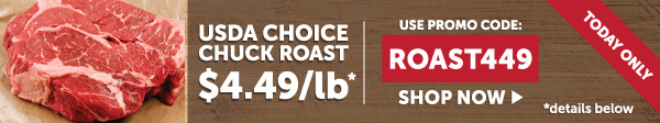 usda choice chuck roast sale