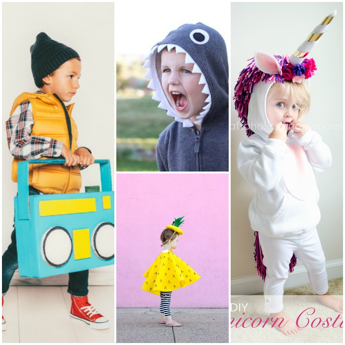 40 Halloween Costumes for Kids - FB