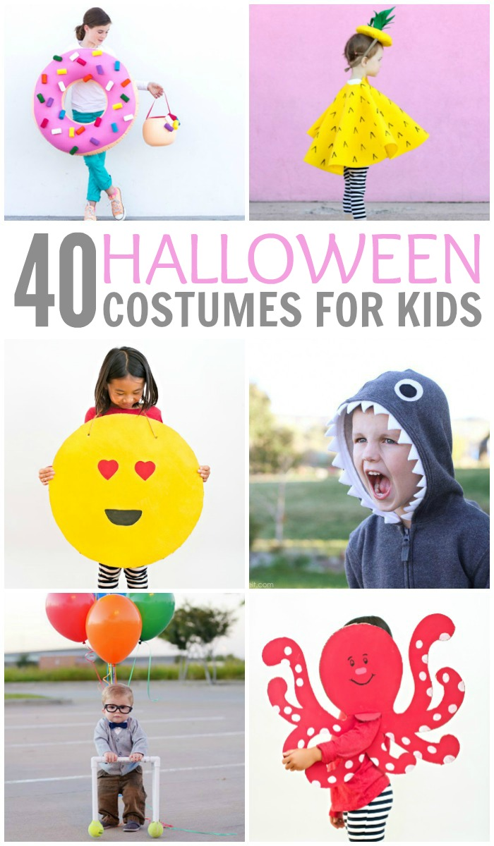 40 Halloween Costumes for Kids - PINTEREST