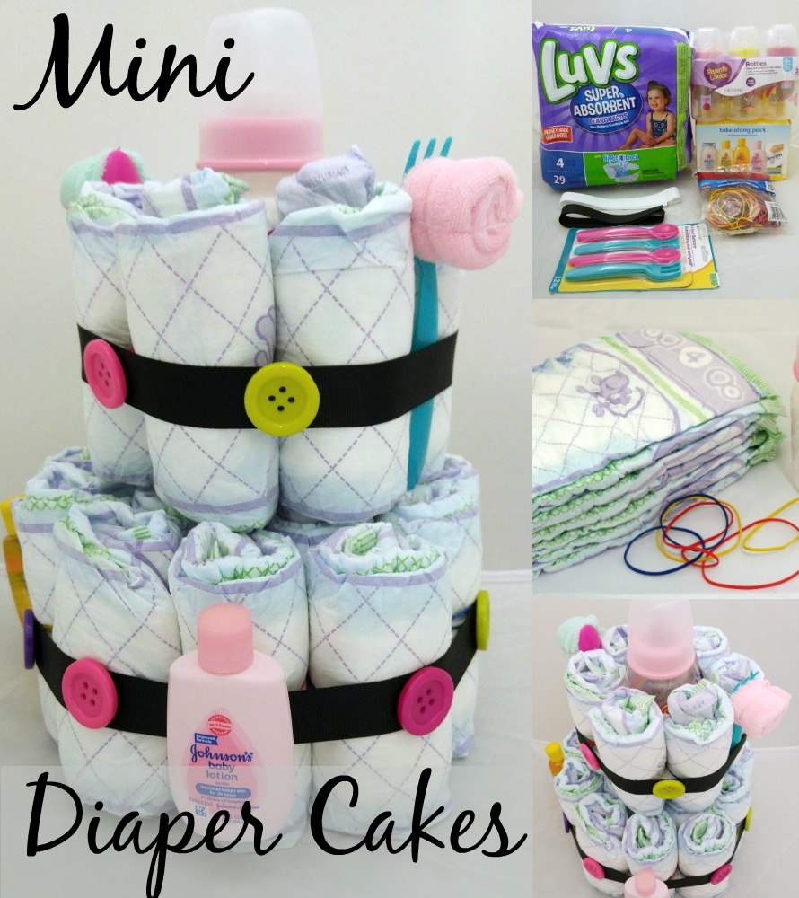 Mini Diaper Cake Main