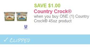 country crock coupon
