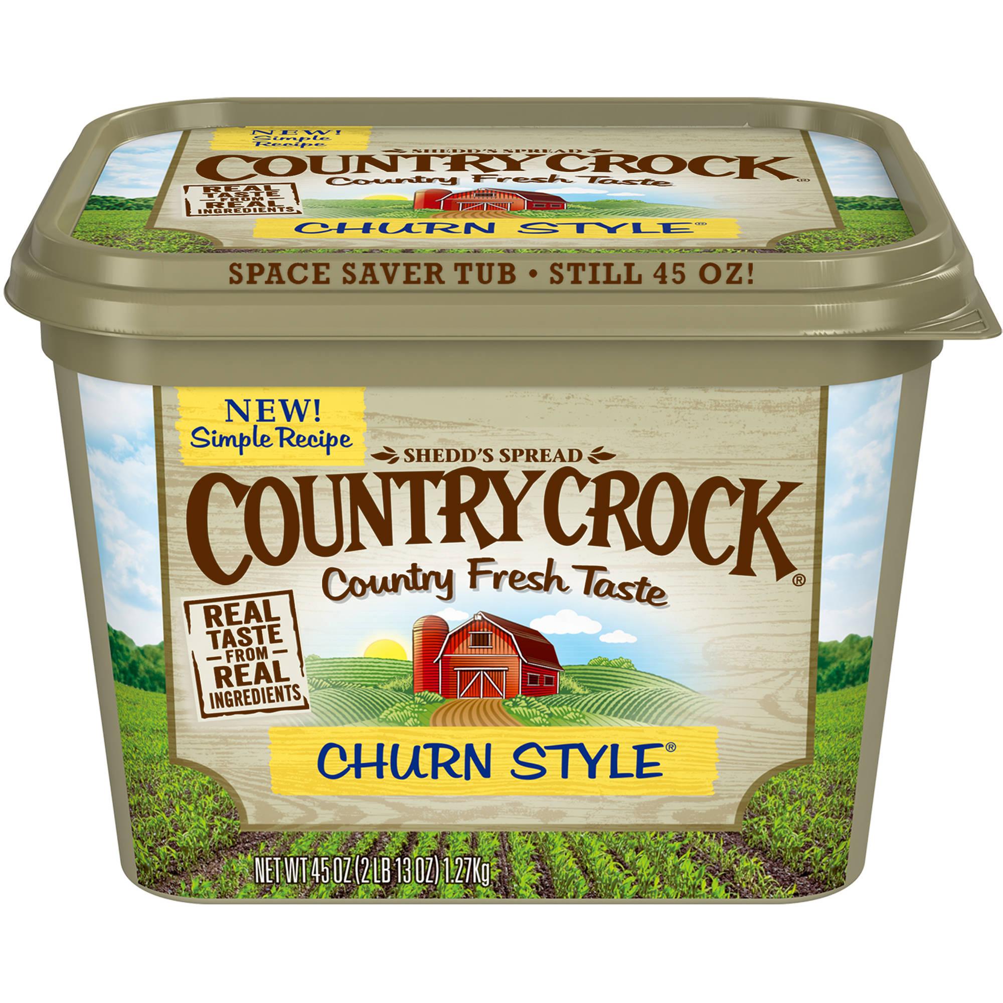 Kroger Mega Event: Country Crock Spread 45oz only $0.99
