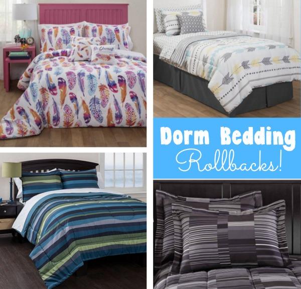 College Dorm Bedding Sets On Rollback At Walmart Rugs