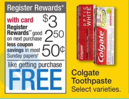 free colgate wags