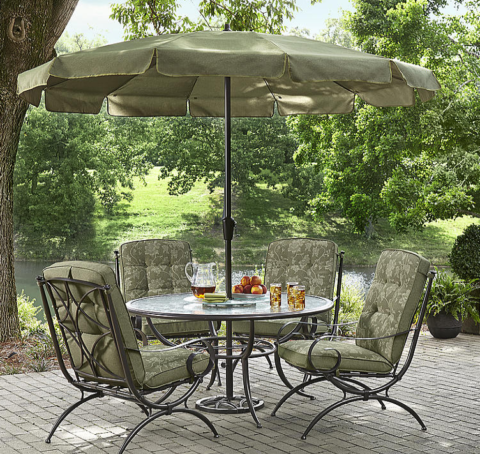 Kmart Patio Clearance 70 Off 10 Pc Patio Set 180 on Grand Harbor Jamestown Patio Furniture
