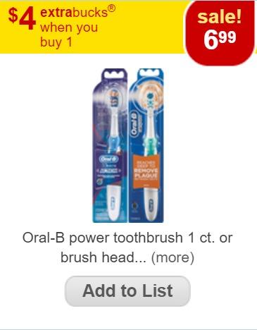 oral b power cvs