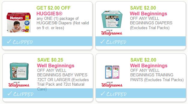 walgreens diaper deals