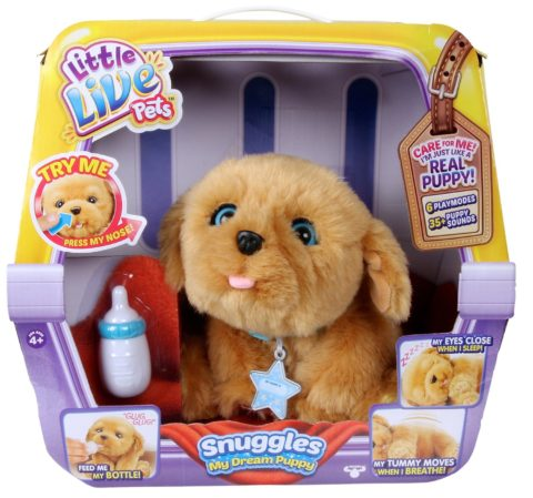 Hot Christmas List Toy! Little Live Pets Snuggles My Dream Puppy ...