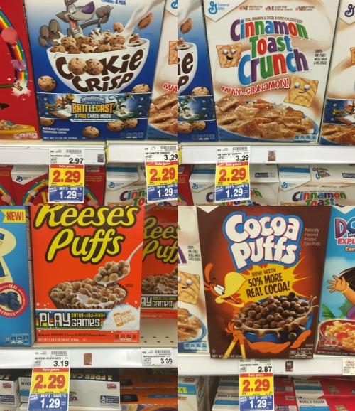 Kroger Mega Event: General Mills Cereals Only $0.79 Each