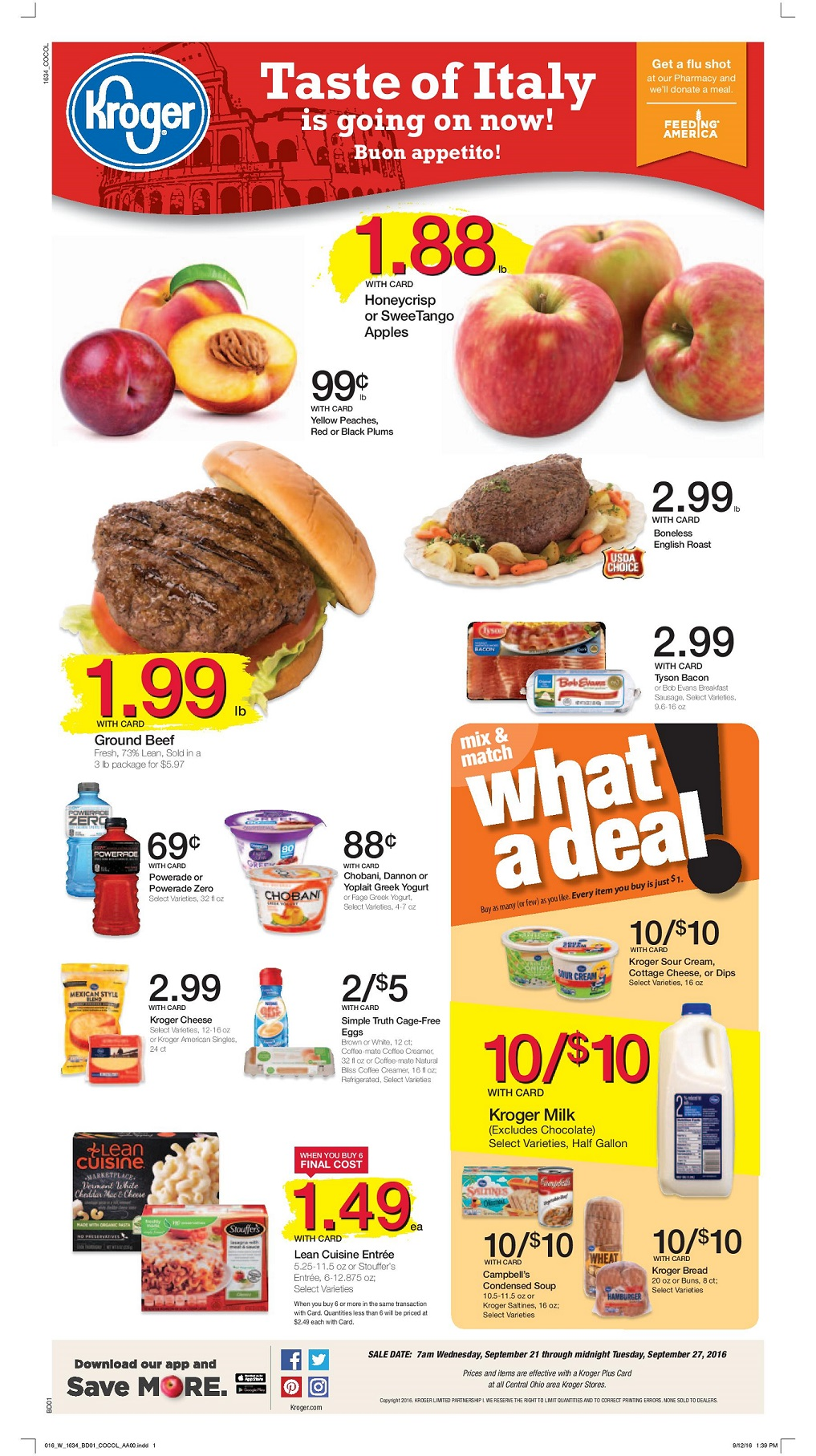 Kroger Early Ad Scan Preview 9/21