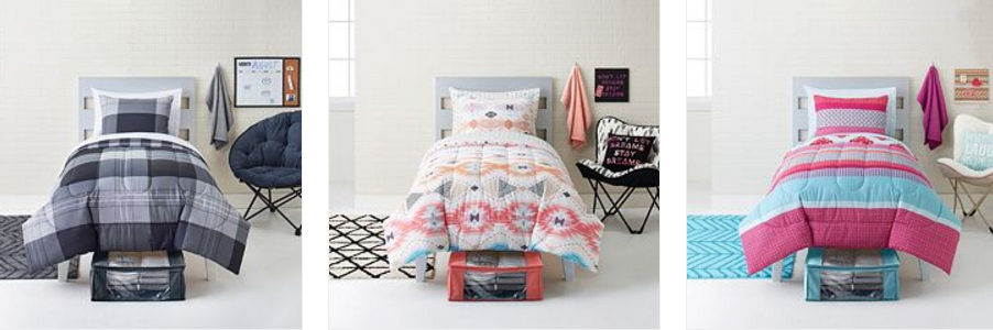 Spectacular Right now at Kohl us you can stack some codes to get a GREAT deal on an pc Bedding Set