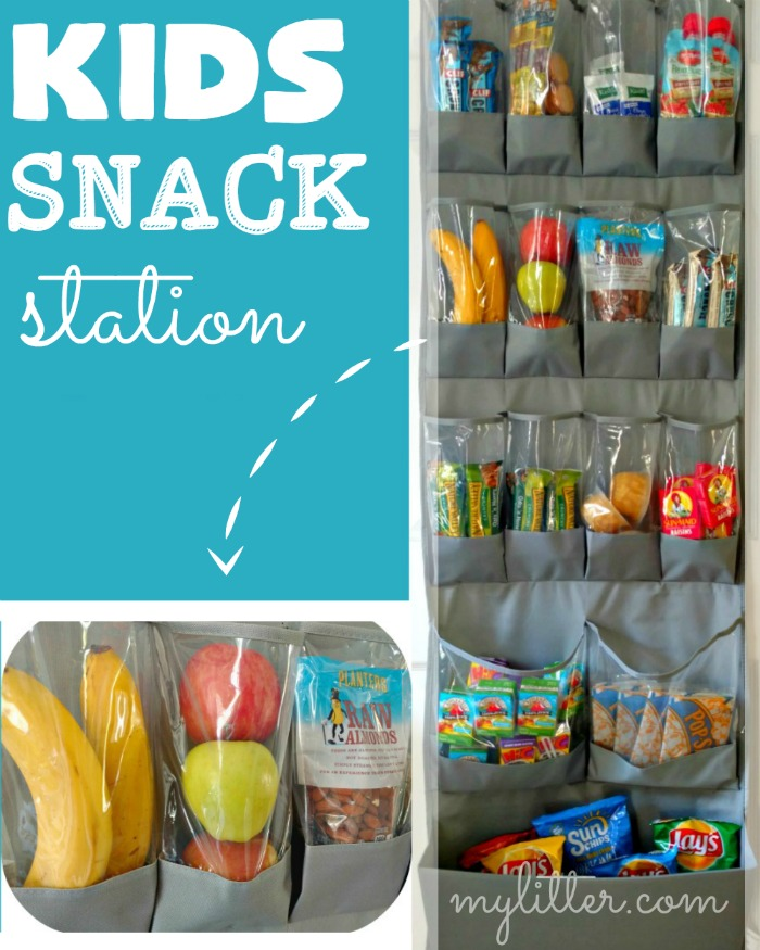kids snack station