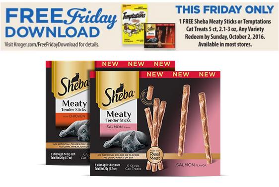 Kroger FREEBIE Friday – Load your card! FREE Cat Treats!