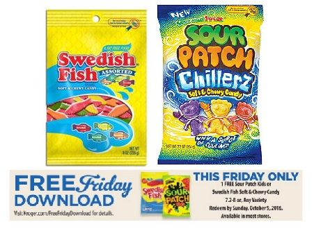 Kroger FREEBIE Friday – Load your card! FREE Candy
