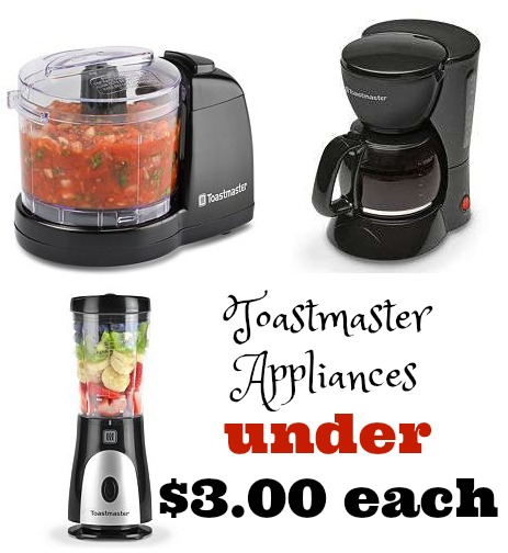 Kohl S Toastmaster Appliances Only 2 68 After Kohls