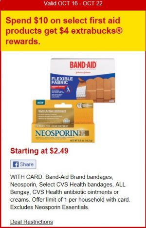 Cvs Deal Neosporin Foaming Liquid 43oz 199 Mylitter One Deal