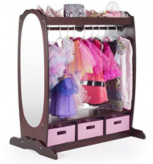 Ordinaire Or This Bigger Unit Which Has More Storage U2013 The Guidecraft Dress Up Storage  Center: Espresso