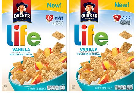 Kroger Mega Event: FREE Quaker Life Cereal