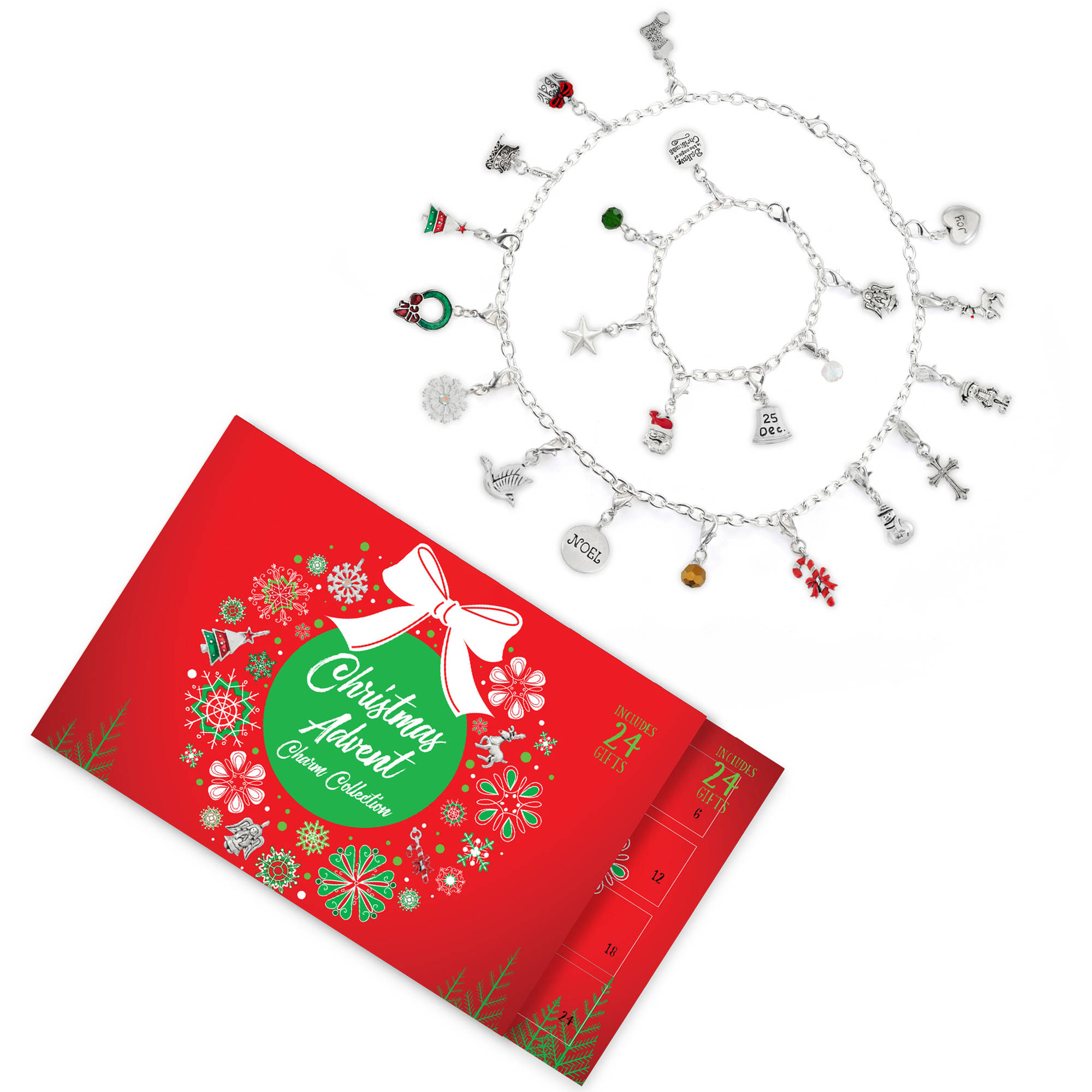 Christmas Advent Calendar Jewelry Charm Collection $14.00 ...
