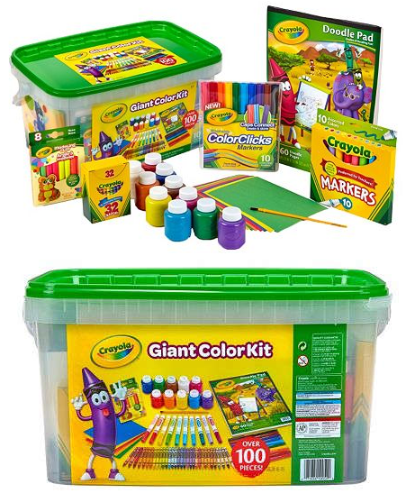 Kohl\'s: Get the Crayola Giant Coloring Kit as low as $11.99 after ...