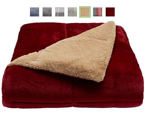 kohl's: cuddl duds cozy soft comforter only $50.99 + $15 kohls