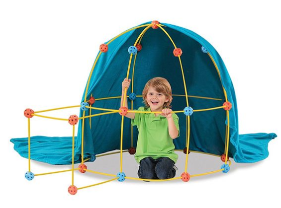 discovery-kids-tent  sc 1 st  MyLitter & Discovery Kids Flexible Toy Construction Tent Set for just $14.97 ...