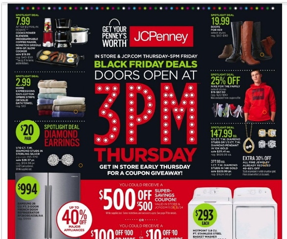 JcPenney Black Friday Ad Scan