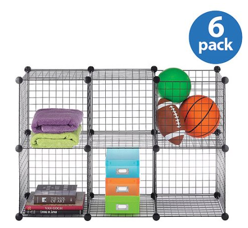 Get The Wire Storage Cube Set Of 6 HERE