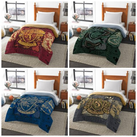 Harry Potter House Comforters Starting At 47 99 Perfect Christmas