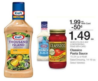Kroger Mega Event: Kraft Salad Dressing only $0.99