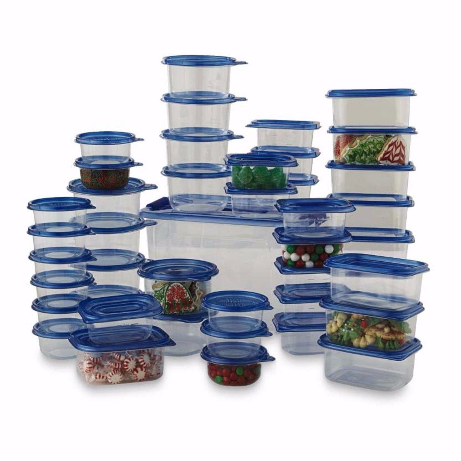 88 Pc Plastic Food Storage Container Set 12 99 Free