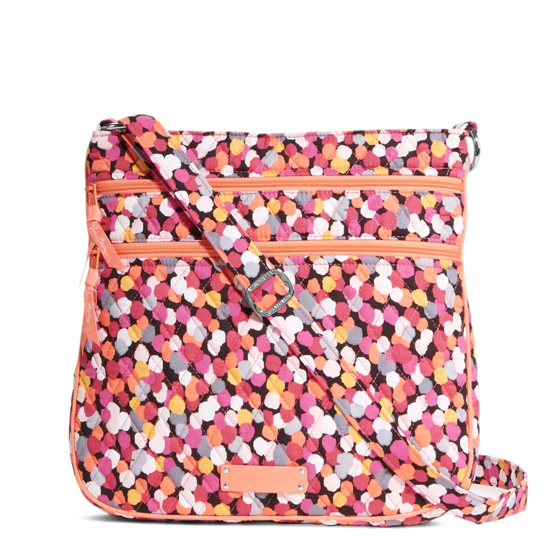 Vera Bradley Triple Zip Hipster Crossbody Bag $19.99