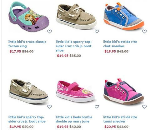 photograph about Stride Rite Printable Coupon known as Stride Ceremony sale up in direction of 60% off + Totally free delivery - MyLitter