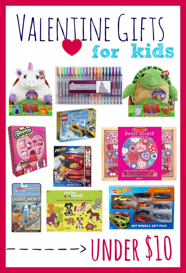 10 Valentine Gifts For Kids Under 10 That Will Ship