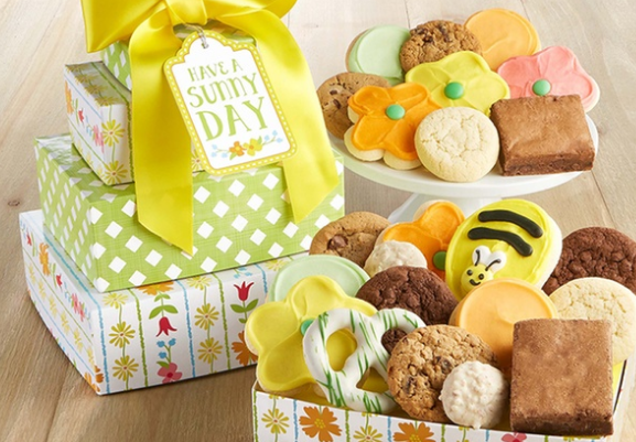 Easter gift idea pay 12 for 30 cheryls cookies cakes and today you can save on somethingyou can gift for easter spring break or just a random just because gift with the cheryls egift card deal on groupon negle Images