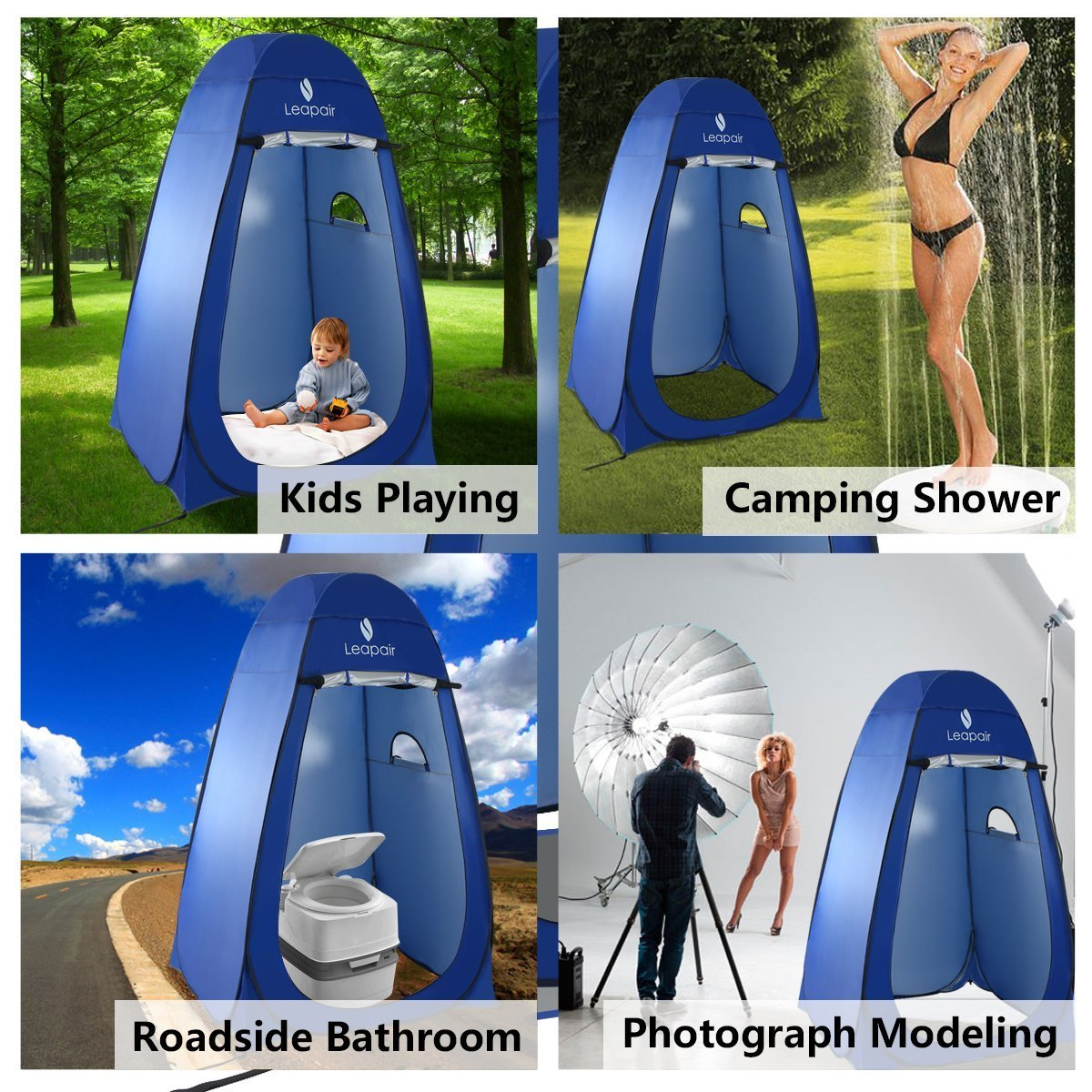 Ready For Sports Or Camping With This Leapair Instant Pop