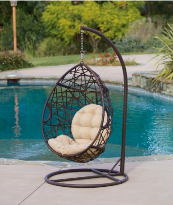 Miraculous Hanging Wicker Teardrop Chair Only 236 Shipped Mylitter Ocoug Best Dining Table And Chair Ideas Images Ocougorg
