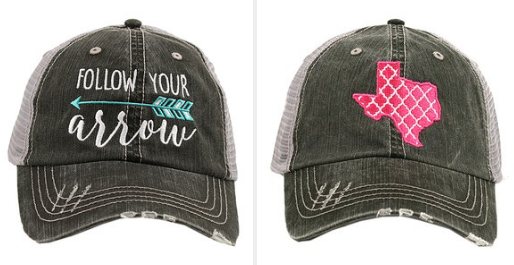 0a71de498fd Have you ever been in a boutique or on vacation looking in the gift shops  and you see those CA-YUTE hats with the sassy Southern sayings on them