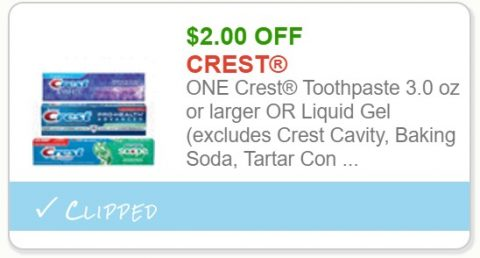 graphic regarding Crest Printable Coupons named Cvs coupon codes crest white strips - Fuel warmers specials lead