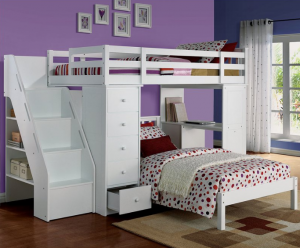 Nice Wayfair also has some crazy cool bunk beds While they do have a few that are on sale for under this is really one of the only places I uve seen carry